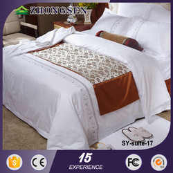 best selling products European hotel high quality 100%polyester bedding sets