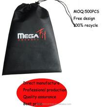 2015 new product non woven drawstring shoe bag