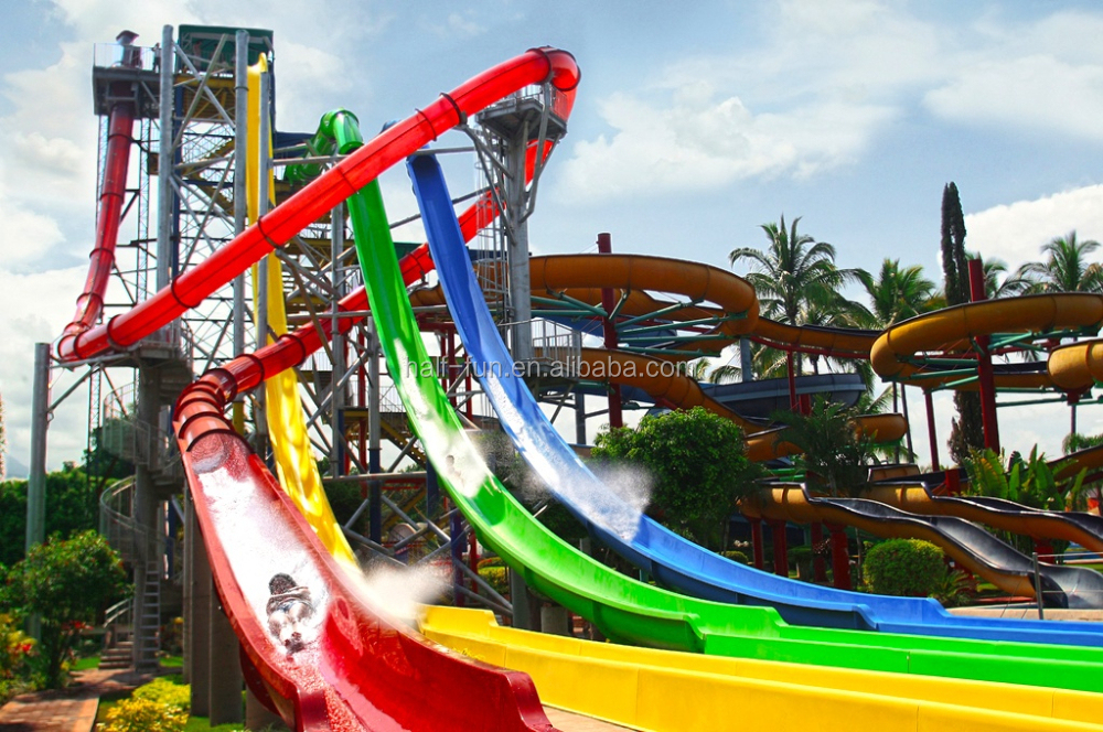 Fiberglass Water Slides Suppliers