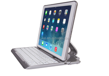 Hot selling Wireless Bluetooth Keyboard for ipad with 360 Degree Rotating Cover and removable keyboard