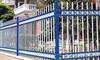 Rustproof Galvanized Steel Picket Garden Fencing