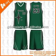 Latest design basketball uniform australia
