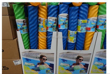 Water swimming pool noodles floats for swimming training aid and swimming pool exercises