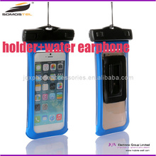 [Somostel] Waterproof phone Bag case with earphone and holder Wholesale hot selling waterproof bag for cell phone