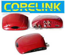 NTK78336 MXL608 MINI SD/HD MPEG2 and MPEG4 AVC H.264 FTA set top box for russia