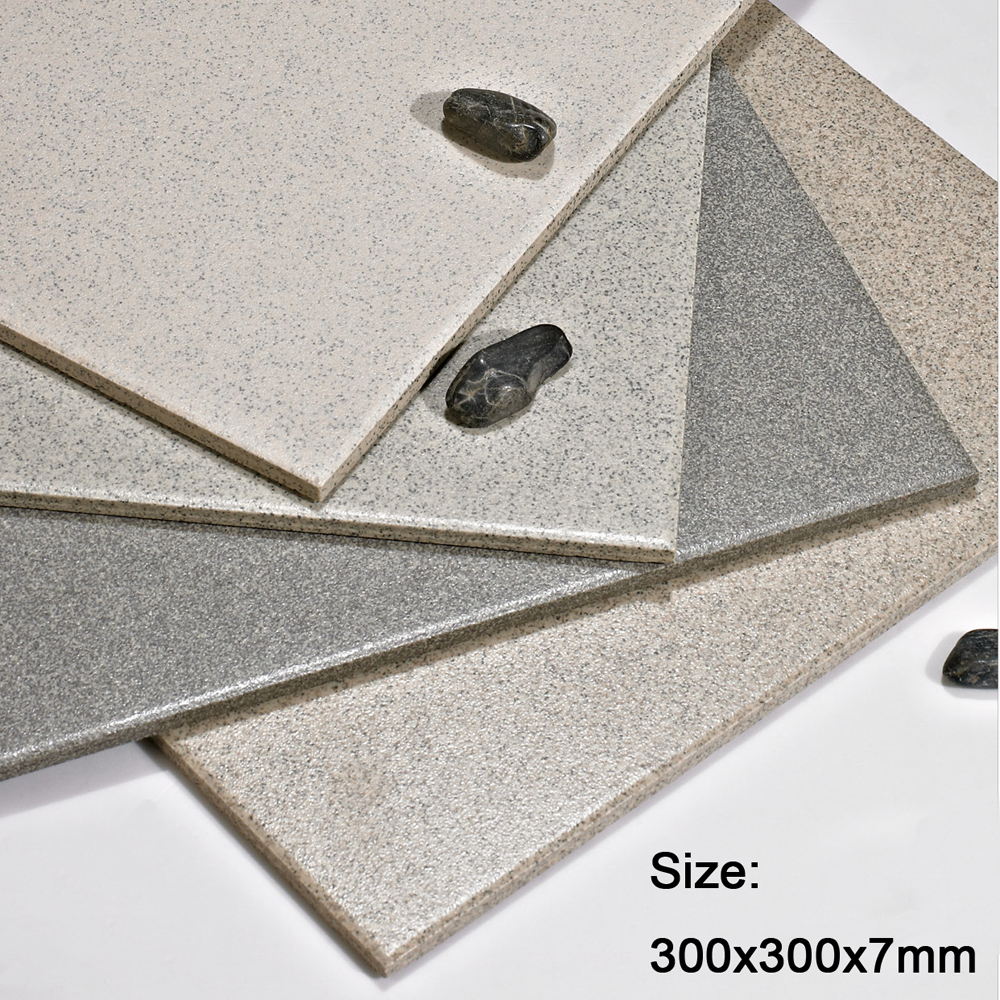 China Glazed No Slip Granite Ceramic Tile Salt Pepper Tile