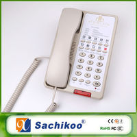 classical star hotel telephone unit for guestroom