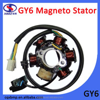 Scooter GY6 8 Poles Magneto Stator Coil For Guangyang