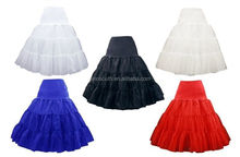 wholesale long ruffle tulle big puffy petticoat