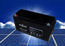 2015 hot factory price VRLA battery deep cycle battery 12v 150ah
