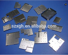 High quality mumetal Customized stainless steel shielding case/ stamping screening can