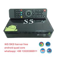 VFD Speed hd s5 android quad core iks sks twin tuner pk azbox bravissimo receptores hd digital