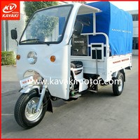 CCC ISO EEC Tuk Tuk Trike 3 Wheel Cargo Motor Tricycle For Cargo And Passenger / Double Usage Trike