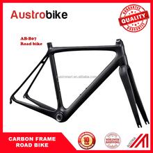 48-56cm EN Approval Matt glossy decal Carbon Fiber Road Bike Frame+Fork+Clamp, Carbon Road Frameset best price
