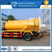China high loader cleaning sewage suction truck manufacturer