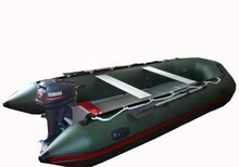 aluminium floor boat for carp fishing outboard boats ( HLL300)