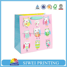 2015 Guangzhou Manufacturer Customized packaging paper bag with company logo