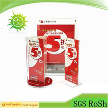 Hot Selling Clear Acrylic Table Menu Holder,Table Stand