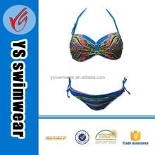 2015Bandeau Jewel chain Top Young Ladies Brazilian Sexy Swimwear bikini