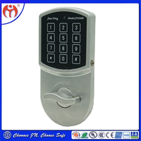 Keypad electronic steel cabinet lock 6 DV for office file cabinets