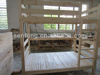 Solid Structure Wooden Bunk Bed for Sale
