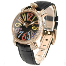 2015 latest design women fashion hand wrist watch with genuine leather band
