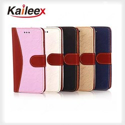 High Quality Luxury Flip Down Leather Case for iPhone 6 Leather Case