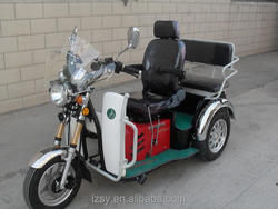 china 110cc handicapped disabled tricycle 3 wheel motorcycle for passenger (SY110ZK-A)