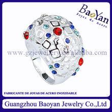 joyas se vende al por mayor de anillos acero quirurgico