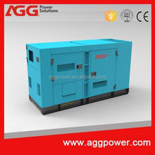 silent genset with synchronized system powered by MTU engine with ISO and CE