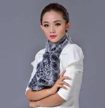 fashion hot scarf/faux fur animal winter hat/ladies rabbit fur scarf fox shape