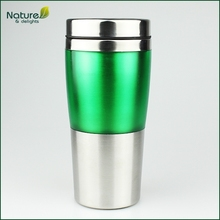 16oz 450ml Double Wall Insulated Stainless Steel Journey Travel Tumbler