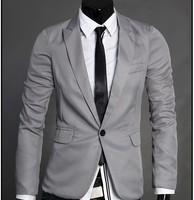 Wholesale 4colors new arrival Korea style slim fit wholesale men's latest blazer design