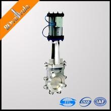 Gate valve with pneumatic actuator sluice knife gate valve 6 inch