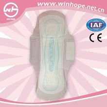 High absorbent super dry sanitary napkin with loop