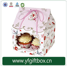 Customized cupcake boxes fancy design gift boxes wholesale boxes for cupcake