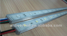 high lumen rigid led strip IP 66 60pcs/m smd 5050 led rigid strip light/led bar