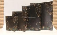 paper bag/ zip lock kraft paper bag/ personalized brown paper bags