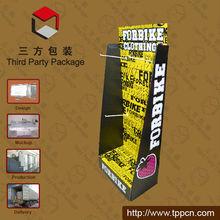 Personalice la venta caliente de cartón Calcetines Display Stands
