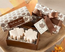 Cute Scented Maple Leaf Soap lovely wedding gift