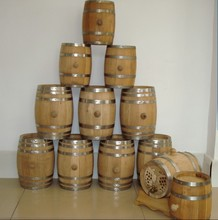 Made In China Oak Wood Barrel, Ice Wine Beer Bucket