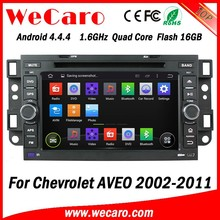 Wecaro WIFI 3G car dvd player android for chevrolet aveo car radio navigation system 2002 -2011