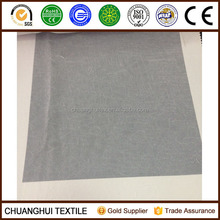 280cm width white color crushed voile fabric for curtain or decoration