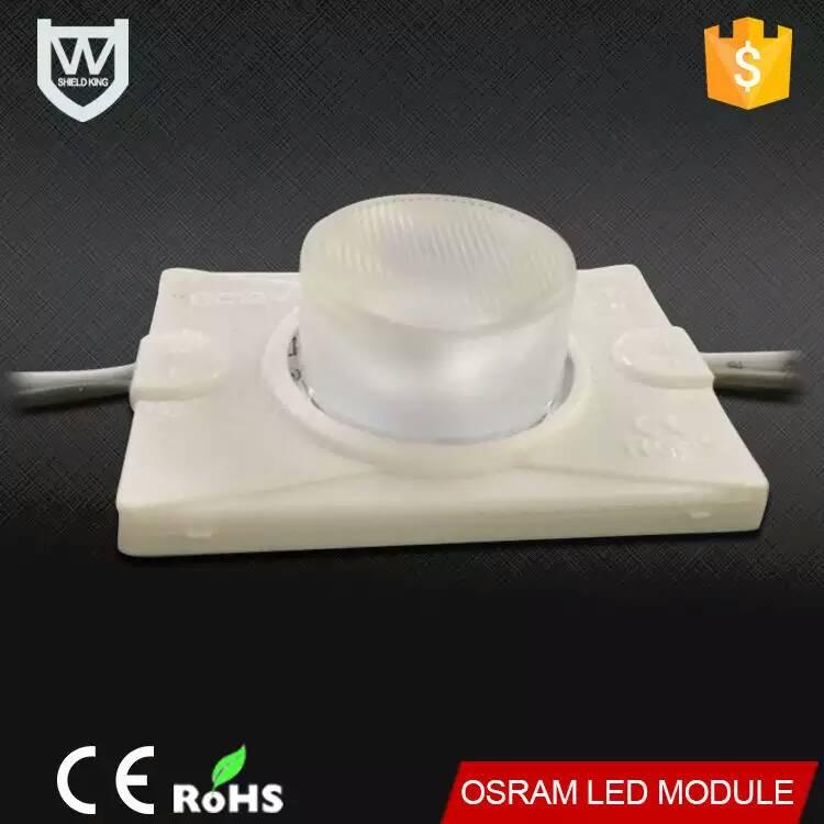 Venda quente DC12V 3030 injeção de alta potência osram levou módulo para publicidade levou a letra de canaleta