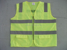 Guardman High-Vis and High Quality Reflective Safety Vest Light Fluorescent Jacket for Man's Safety