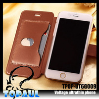customized phone case ,leather flip case with adjustable stand for asus zenfone 5