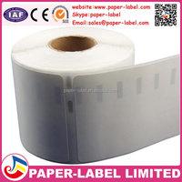 50 rolls dymo S0722430 dymo 99012 100%compatible dymo printer back black printing