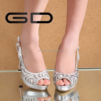 new Euopen and American fashion style girl high heel sandal shoes