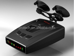 Fashion Design Anti Police Strelka Radar detector With detection(X, K, new K, Ku, Ka, new Ka, VG-2, 360 Degree Laser)