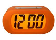2015 NEW Silicone mini alarm clock for travelling